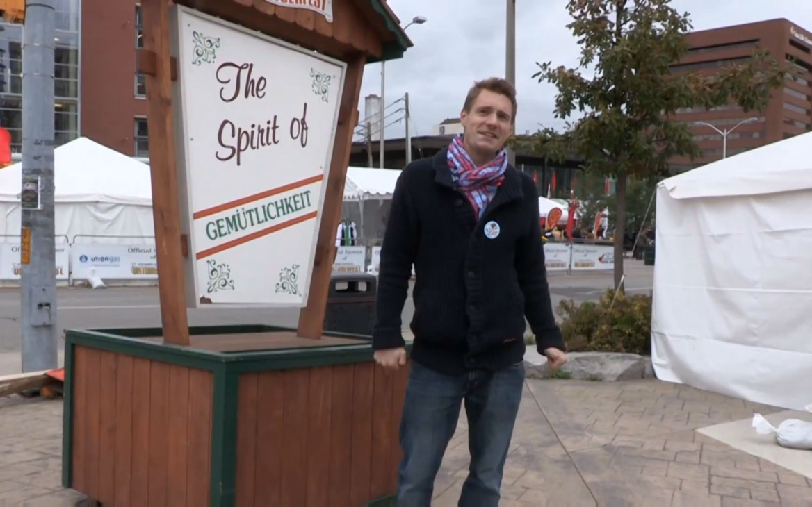 Markus in Kanada: Video: Lost in Oktoberfest – O'zapft is!