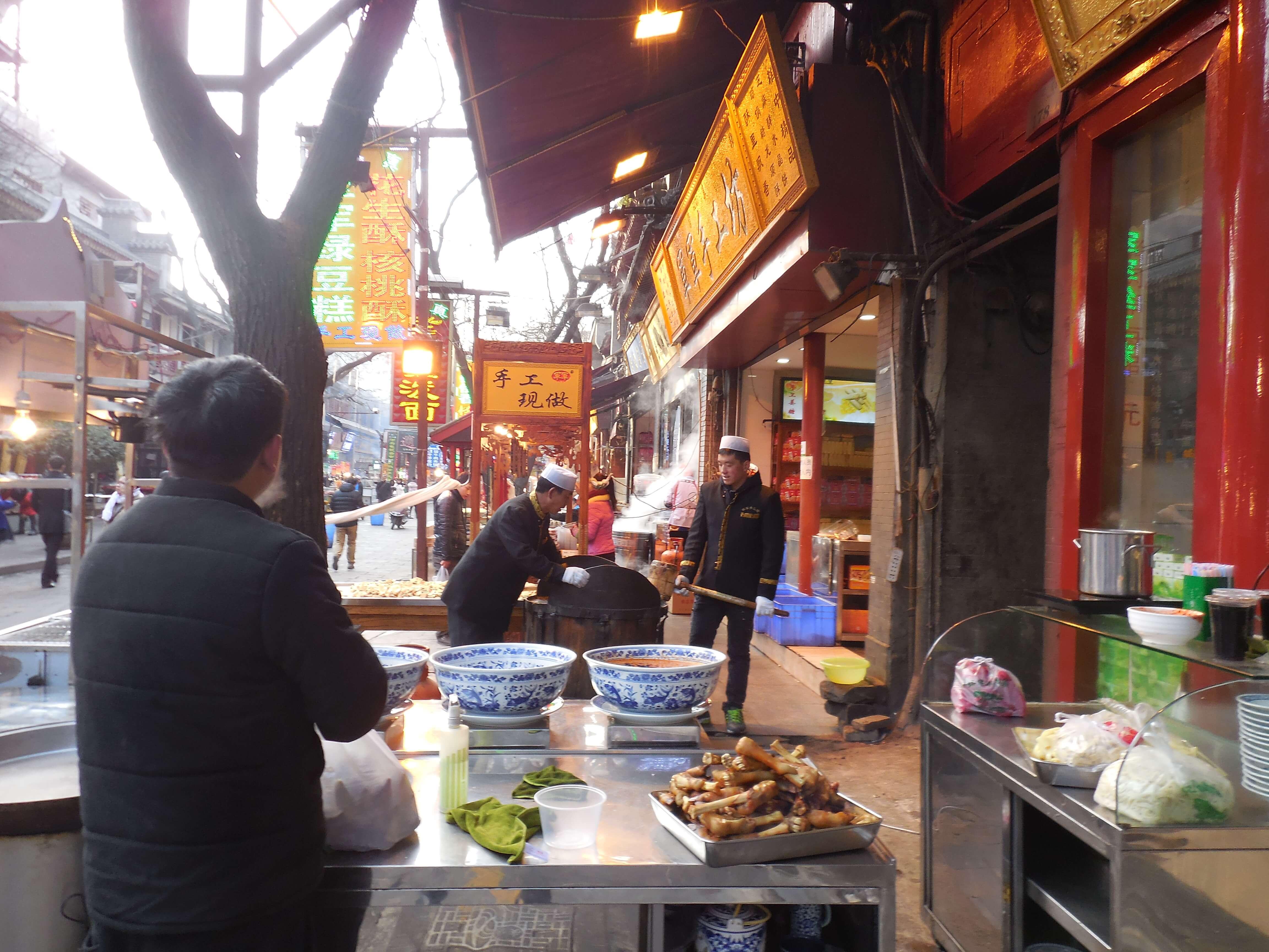 Das muslimische Viertel in Xi'an
