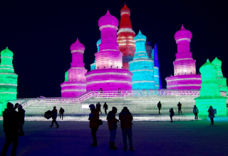 Spektakuläres China – das Eis-Festival in Harbin
