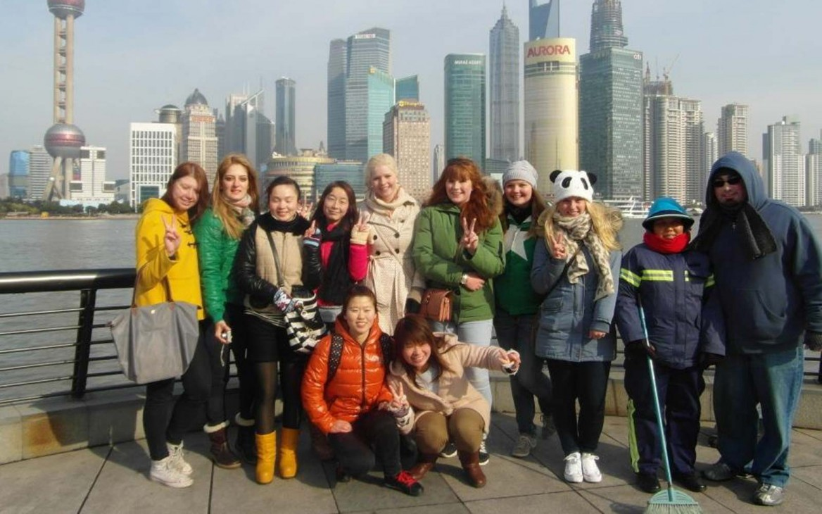 Hanna in China #28: New Year's in Shanghai