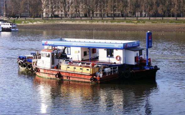 Boote auf der Themse