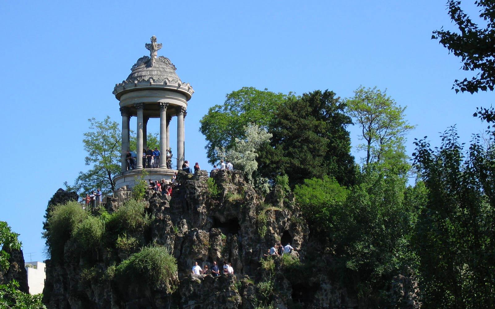 Paris: Jardin Buttes-Chaumont