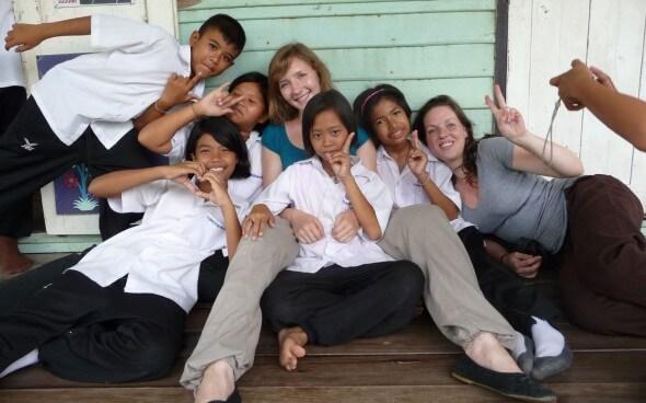 Interkulturelle Kommunikation: Thailändische Schulklasse