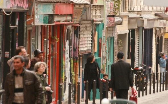 Paris: Rue Dénoyez