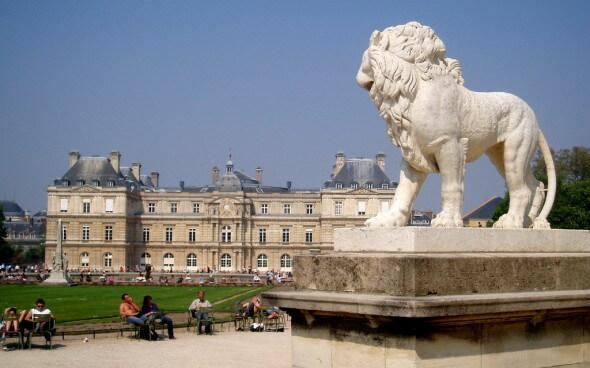Paris: Parc de Luxembourg