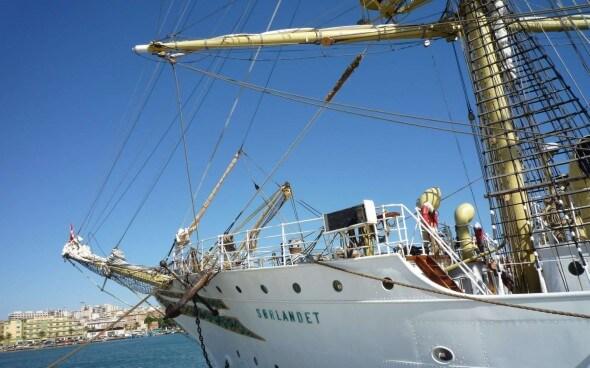 High School auf See: Segelschiff