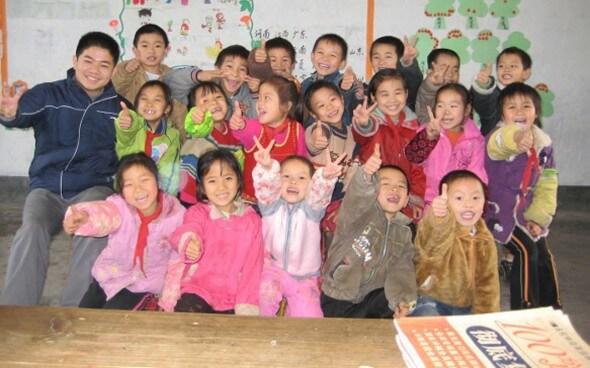 Interkulturelle Kommunikation: chinesische Schulklasse