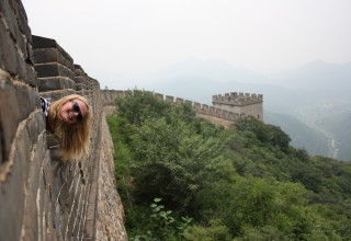 Hanna in China #2: The Great Wall, Teacher's Practice und chinesischer Verkehr