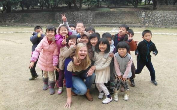 Hanna und ihre Schulkinder