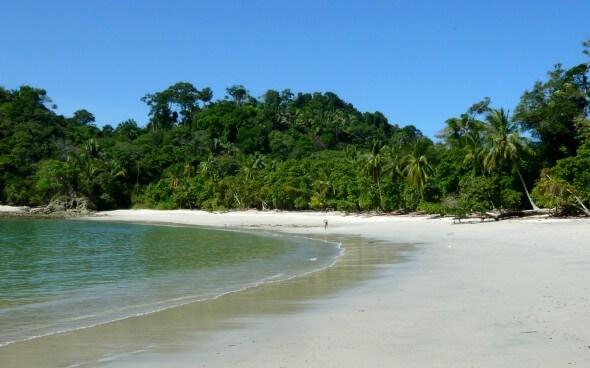 Costa Rica: schöner Strand in San José