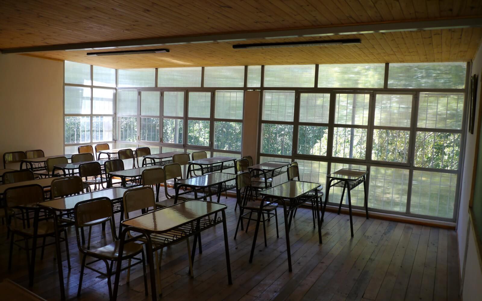Klassenzimmer einer Argentinischen Schule