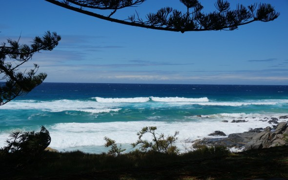 Australien: Ausblick aufs Meer