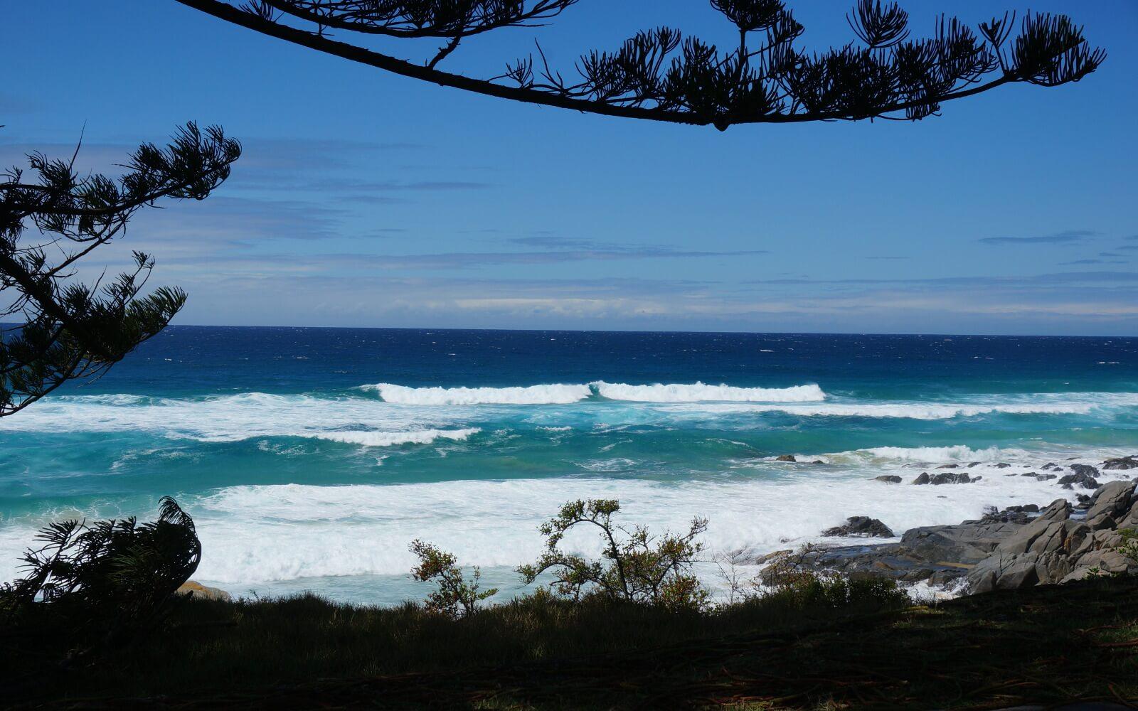 Ausblick aufs australische Meer
