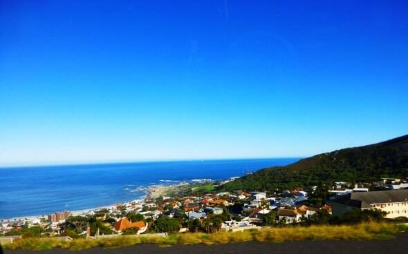 Südafrika: Ausblick auf die Küste