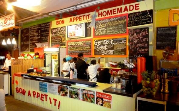 Südafrika: Markt an der Hoot Bay