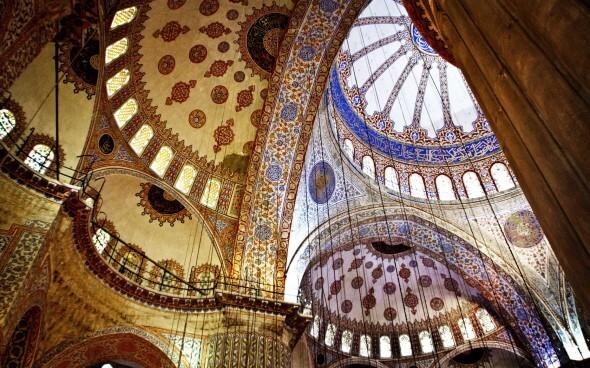 Innenraum der Hagia Sophia