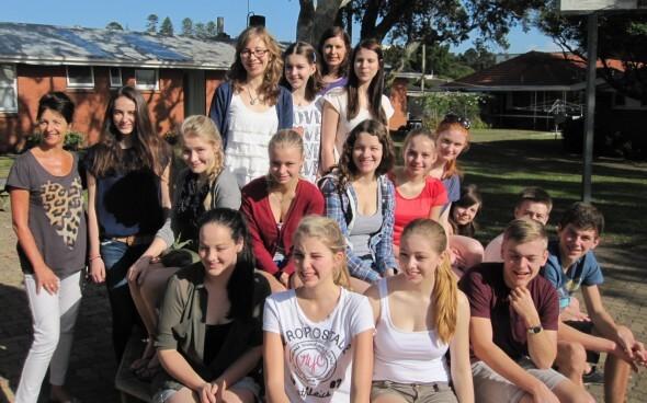 Unsere Austauschschüler aus Deutschland