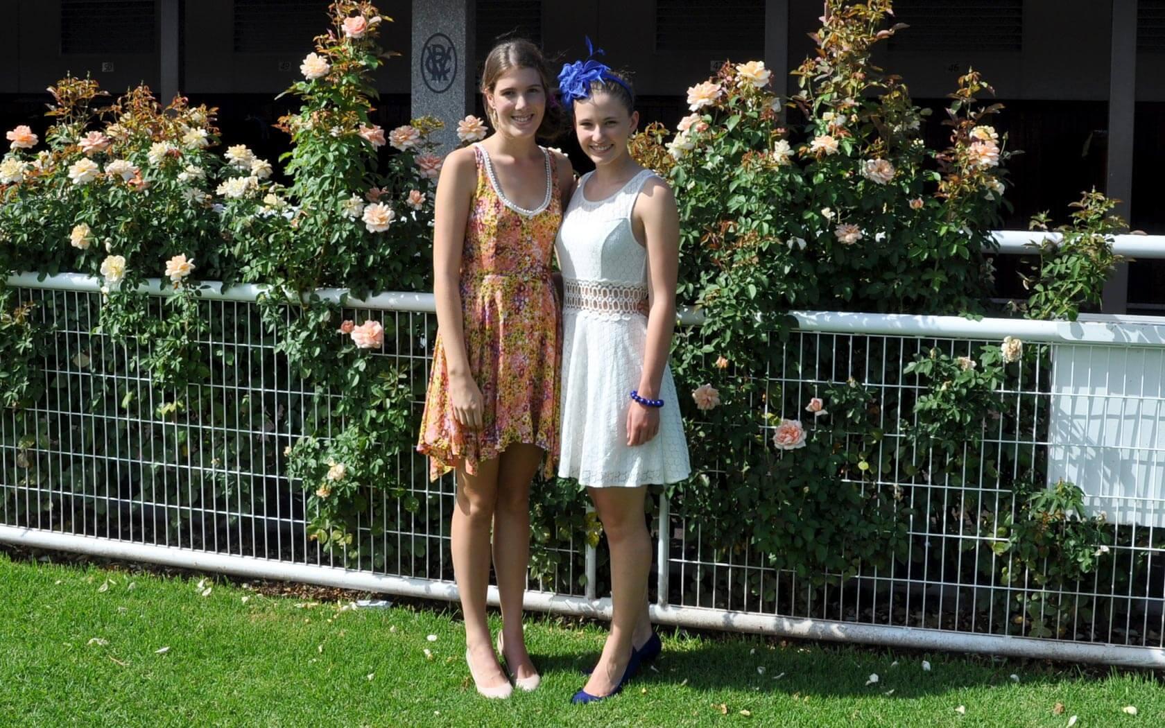 Melbourne Cup: Laura und ihre Gastschwester