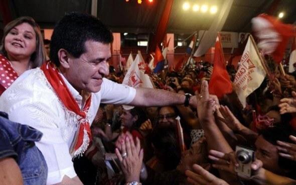 Horacio Cartes - Präsidentschaftswahl in Paraguay 2013