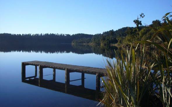 Neuseeland: Spiegelsee