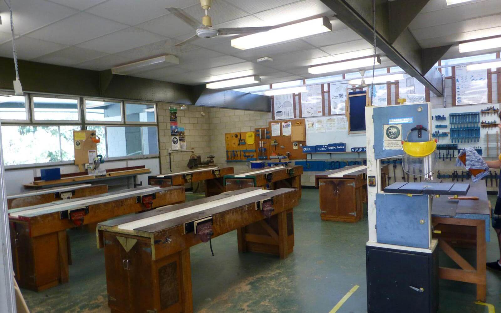 Kunstraum einer High School