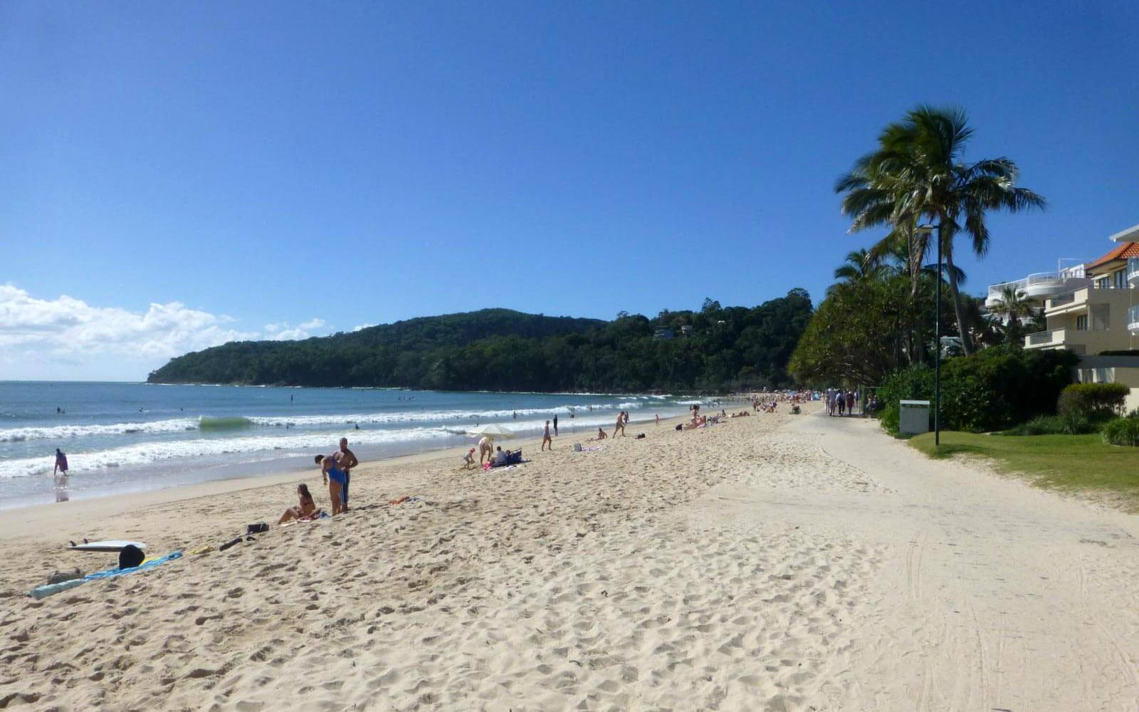 Strand an der Goldküste