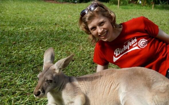 High School Australien: Sandra und das Känguru