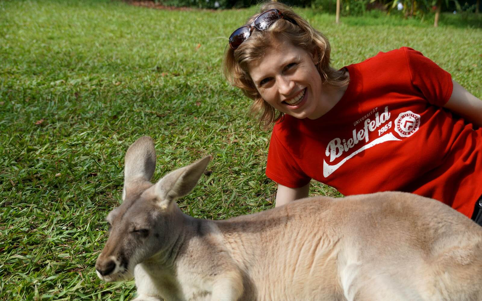 Sandra und das Känguru