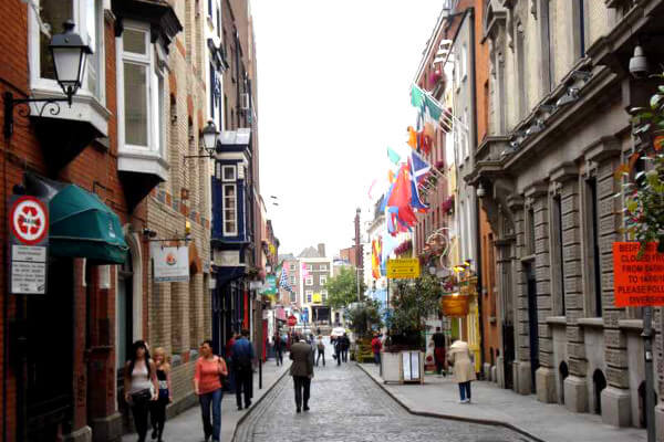 Irland - In den Straßen von Dublin