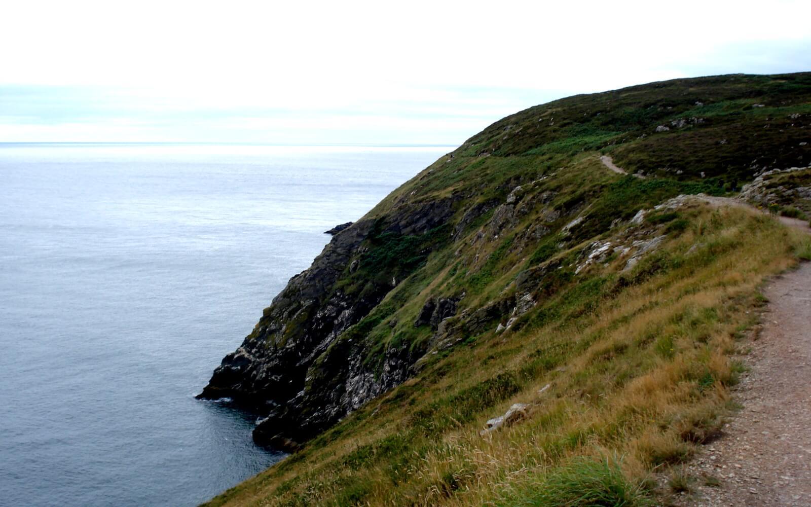 Irland - hohe Klippen