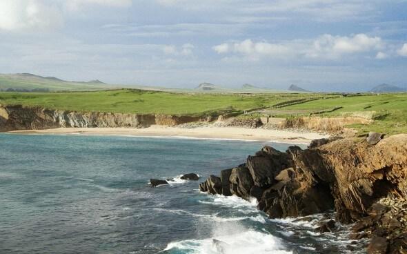 Irland - schöne Aussicht auf das Meer