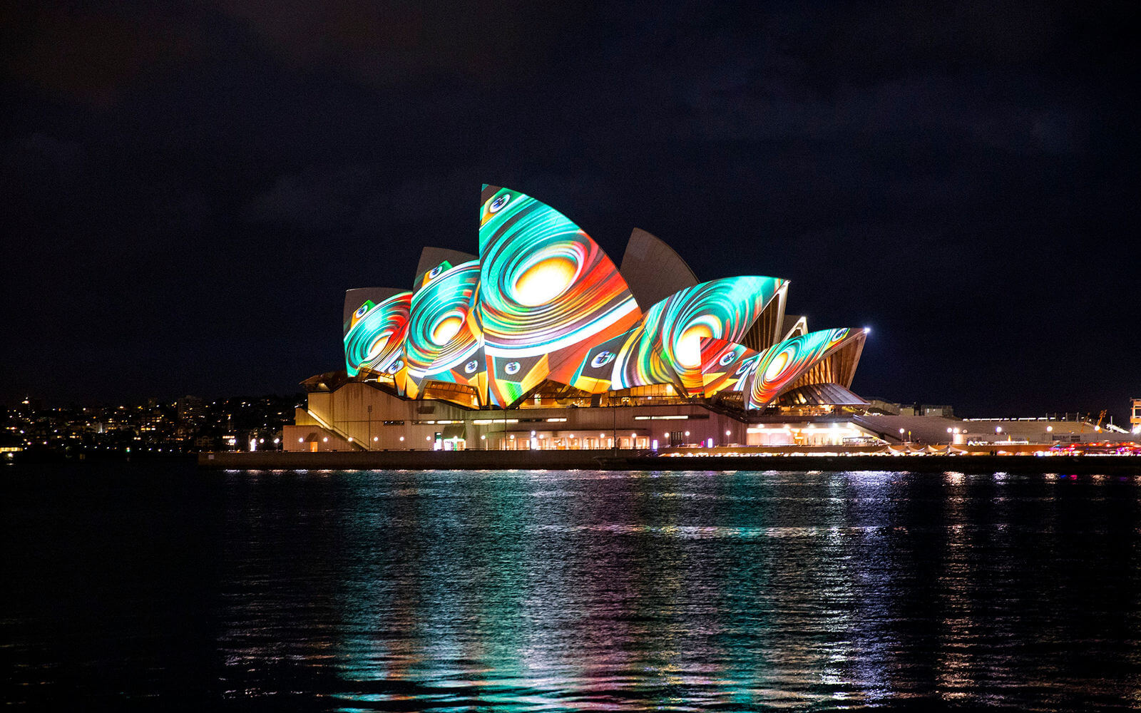 Opera House von James Horan während Vivid Sydney