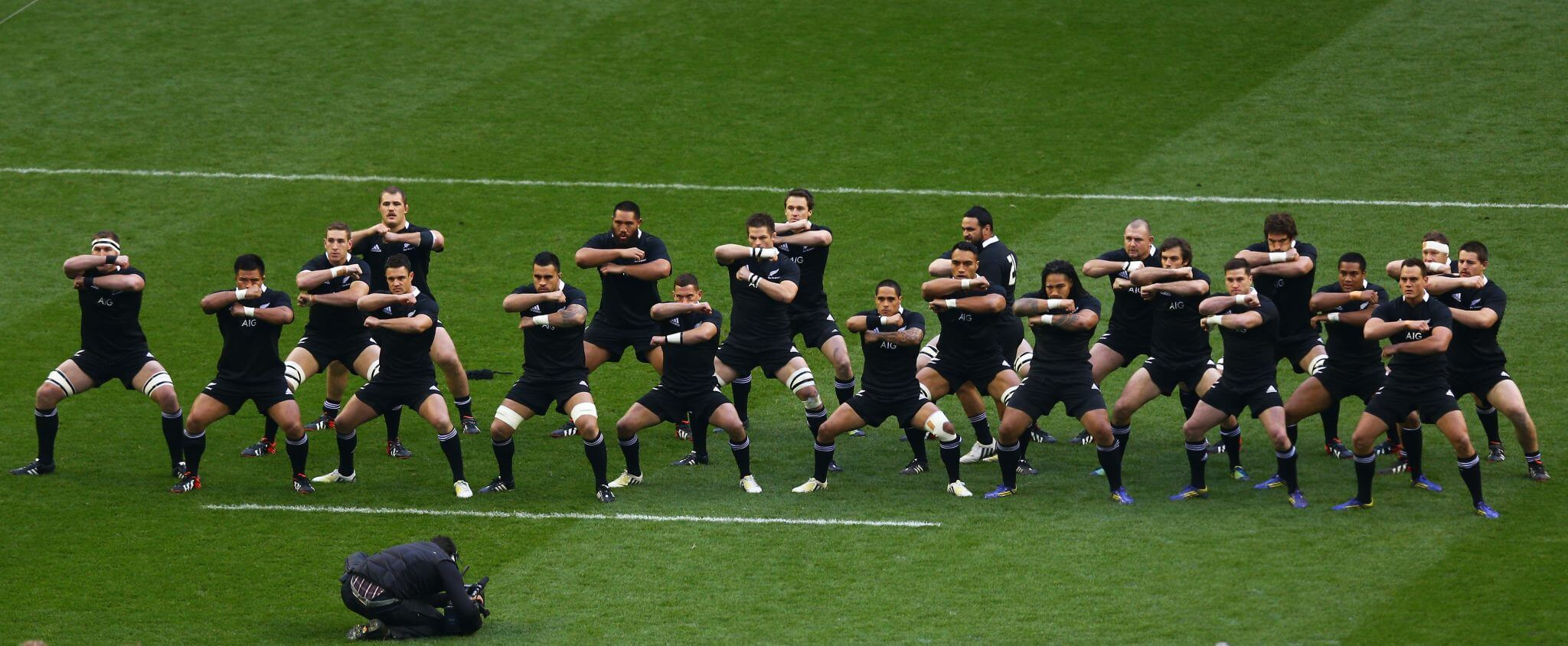 Die »All Blacks« beim Haka