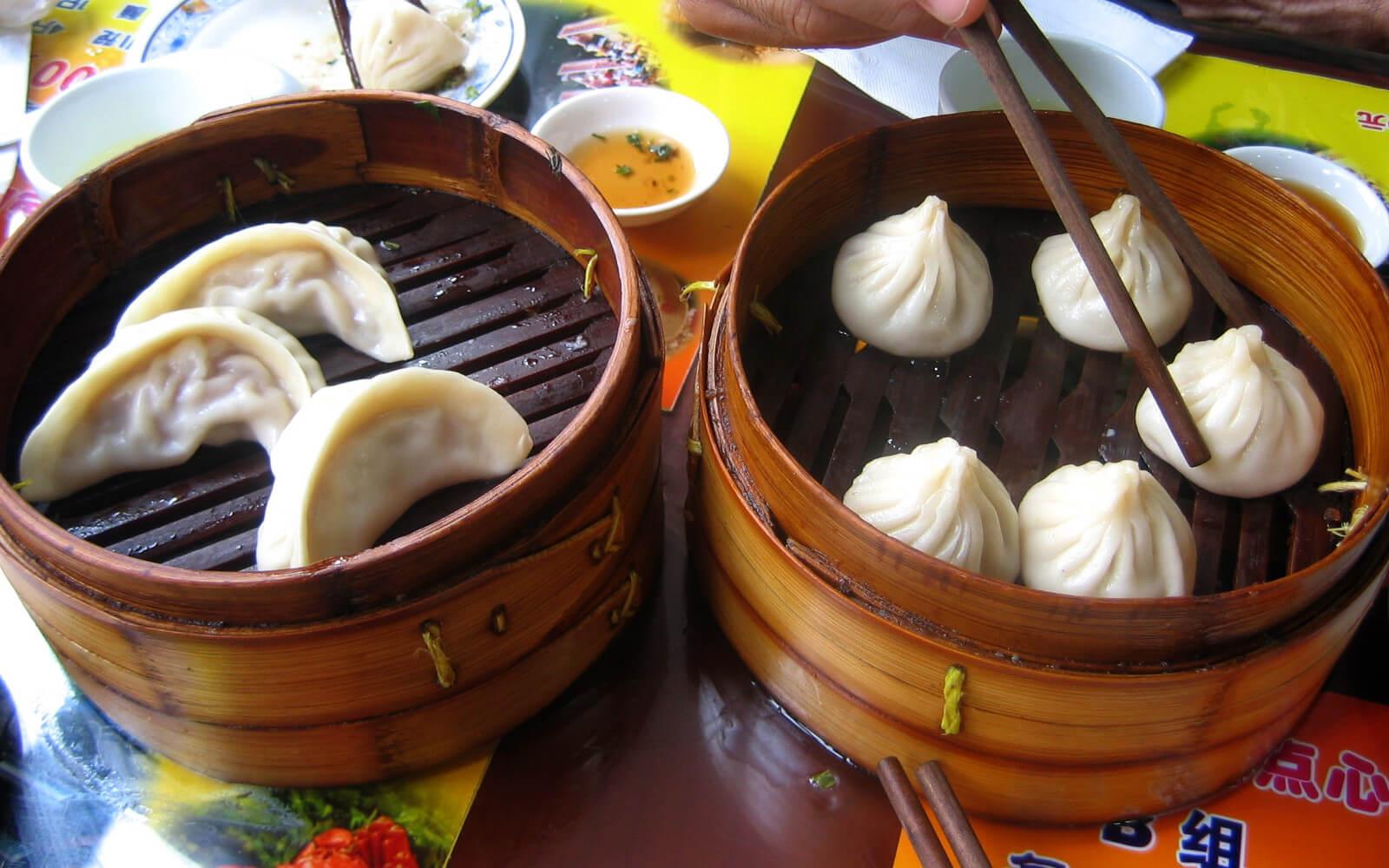 饺子 und 包子 – typisch chinesische Gerichte