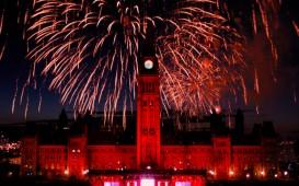 Canada Day: Feuerwerke und Lichtspiele