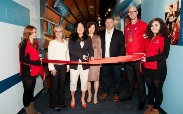 Auslandspraktikum in Kanada: Eröffnung der neuen Ausstellung in der BC Sports Hall of Fame
