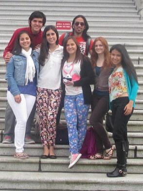 Auslandspraktikum in Kanada: Simone und ihre neuen Freunde