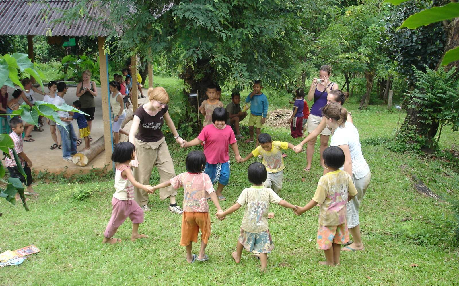 Einer unserer Steppies im Waisenhaus