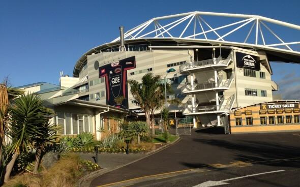 Auslandspraktikum Neuseeland.Stadion