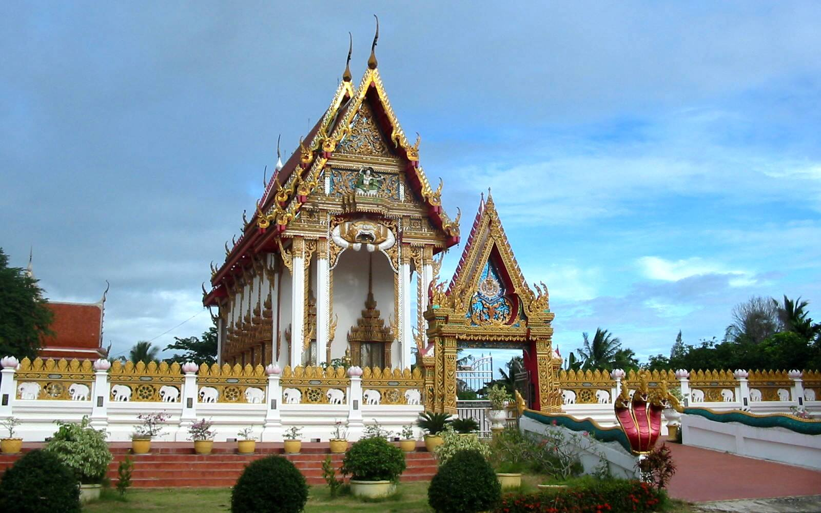 Tempel auf Sri Lanka