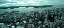 Auckland von oben: Die Sicht aus dem Sky-Tower