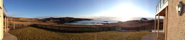 Shetland Reisebericht: Shetland beim Sonnenaufgang