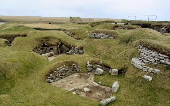 Shetland Reisebericht: Die alte Siedlung Skara Brae