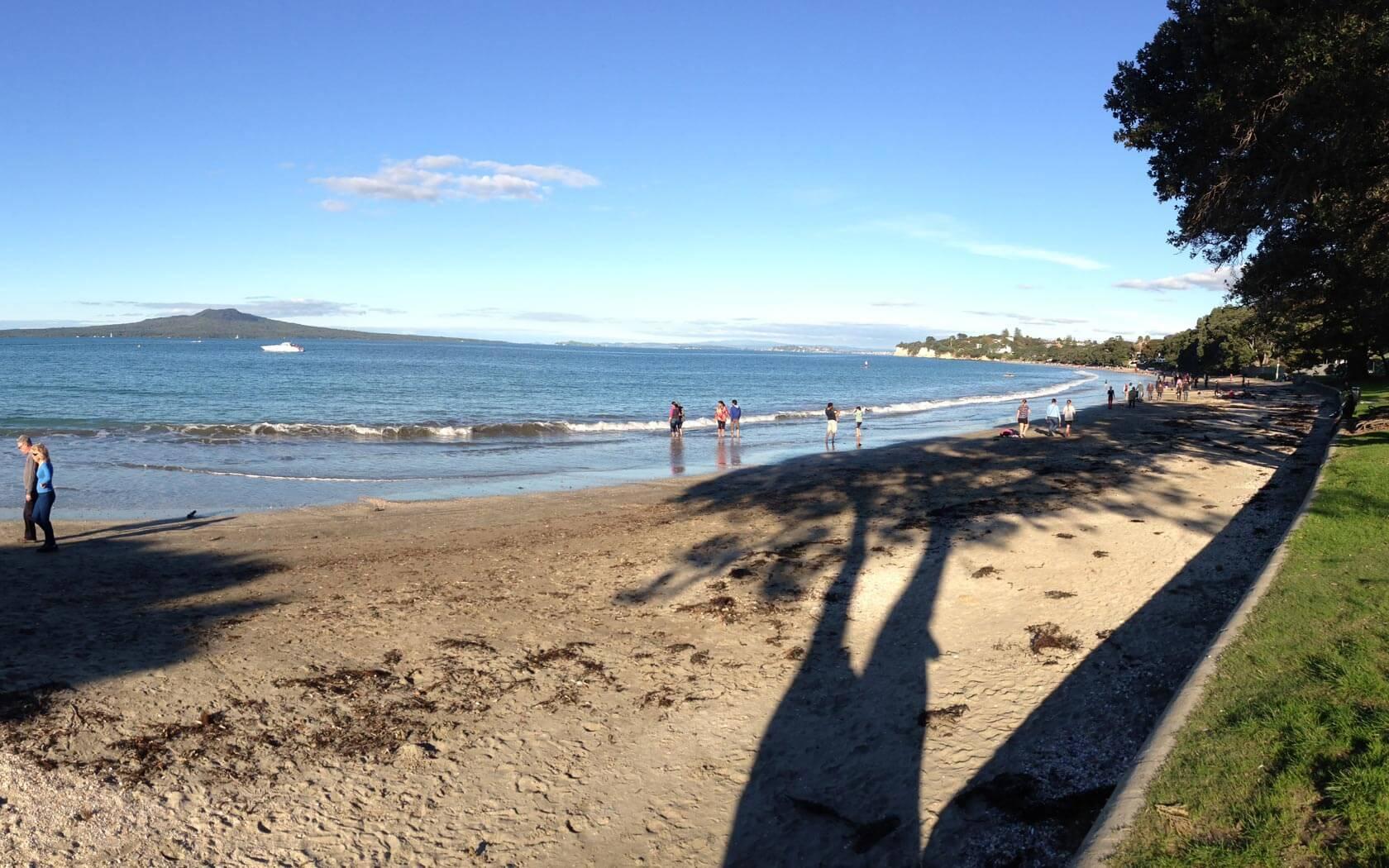 Auckland Beaches: Die Stand ist umgeben von Meer!