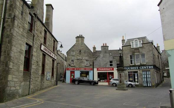 Shetland Reisebericht: Lerwick Town Centre