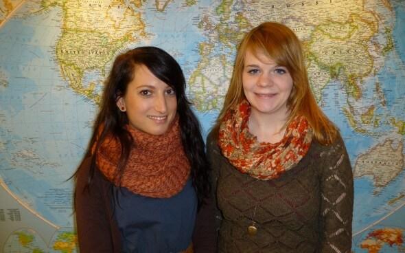 Ausbildung im Tourismus: Nina an ihrem ersten Tag