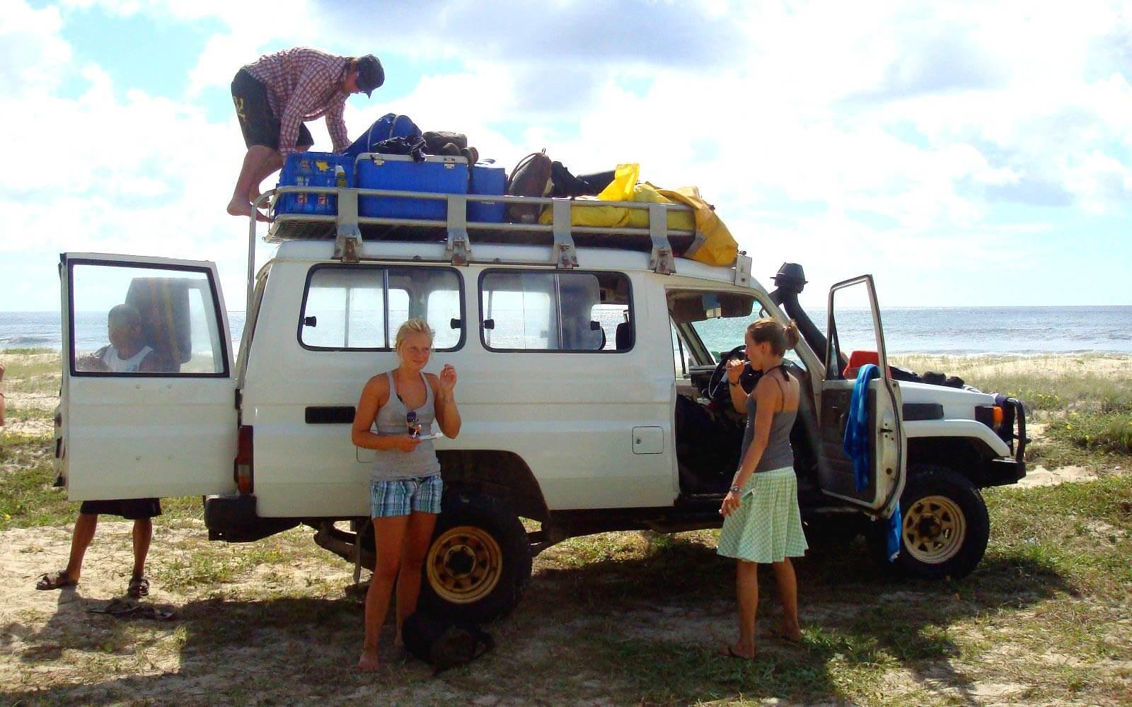 Campen in Australien