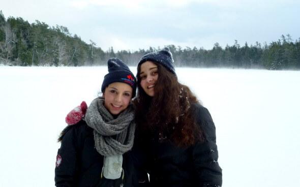 Erfahrungsbericht High School Kanada: Laura und ihre Freundin
