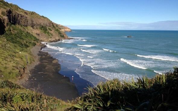 Murawai Beach Neuseeland