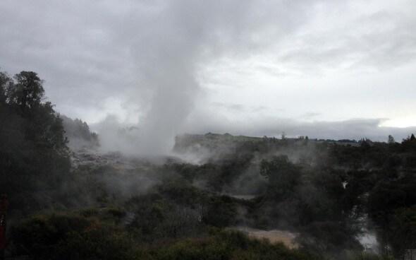 Rotorua: Geothermische Quellen geben einen Einblick ins innere unserer Erde!